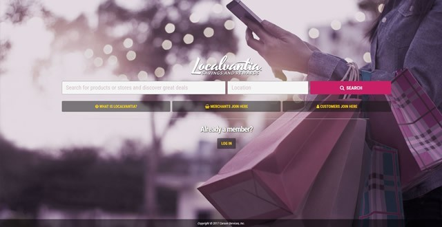 Localvantia Search Engine