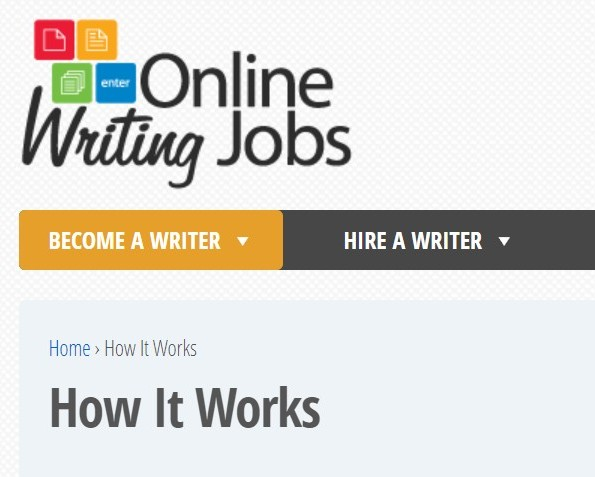 What is Online Writing Jobs