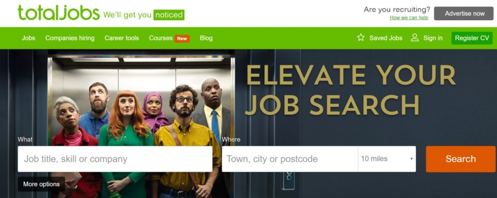 TotalJobs UK job search