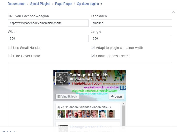 how to get facebook page like widget