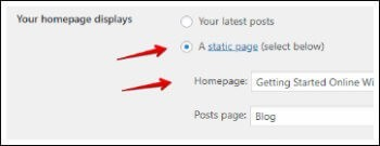 setting preferred homepage