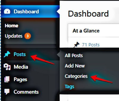 How to use Categories in WordPress