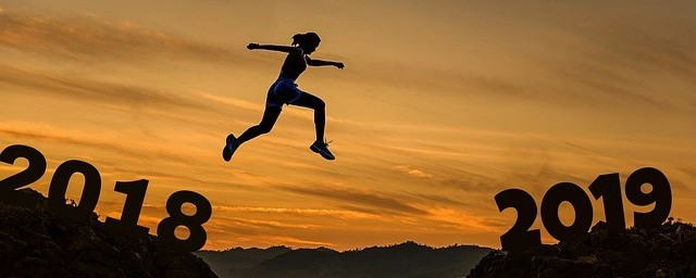image of woman walking on air