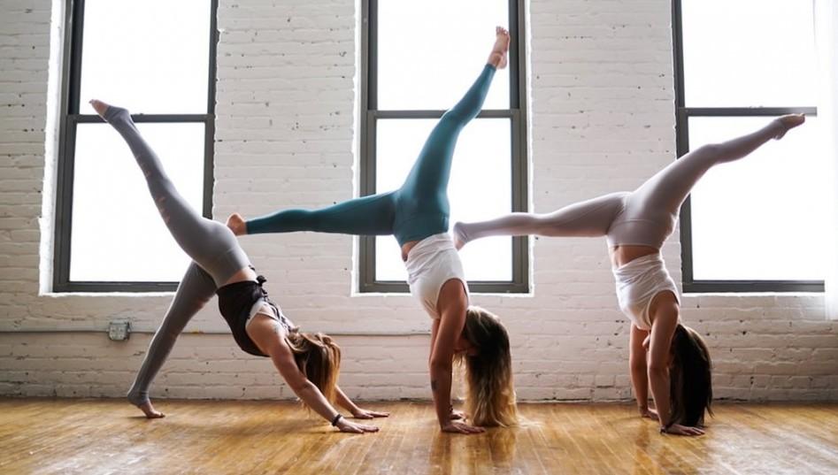 Image of Women doing Yoga