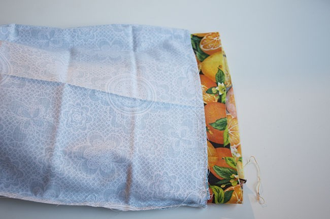 15 Easy Steps To Make A Reversible Drawstring Bag