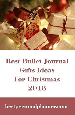 best bullet journal gift list ideas