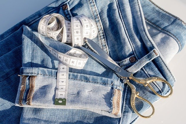 Why You Should Learn To Sew - Mending Jeans