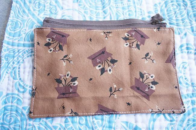 Sew A Zipper Pocket