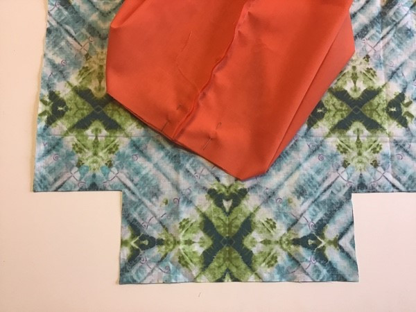 Sew Fabric Lunch Bag