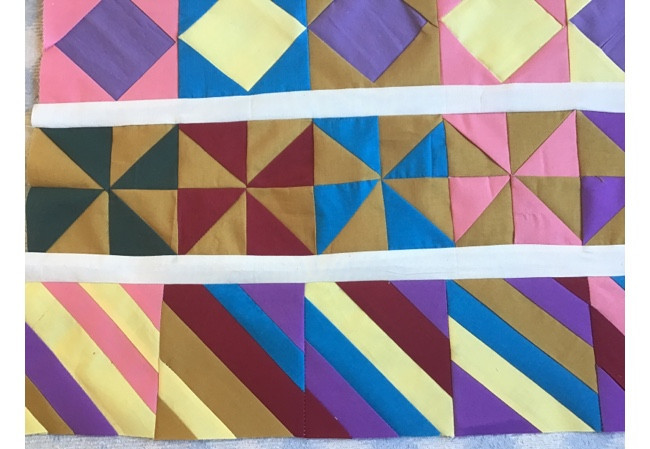 Baby Quilt Rows 2 And 3
