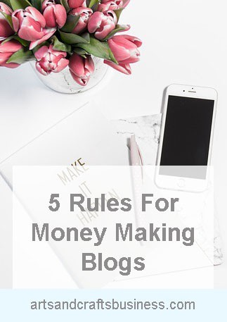 rules for money making blogs