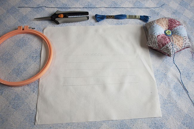 Bordado: Puntadas Básicas Para Tus Quilts