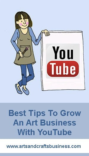 best tips to grow an art business with youtube