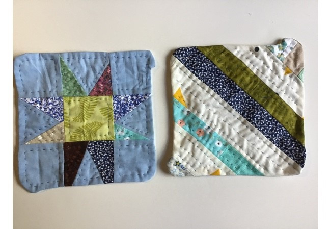 Square Patchwork Bag
