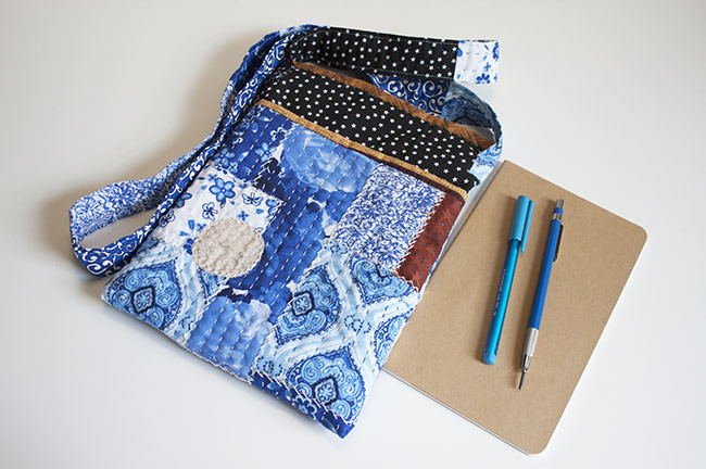 DIY Boro Cross Body Bag