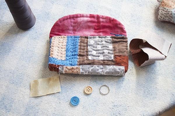 How To Make A Patchwork Boro Bag