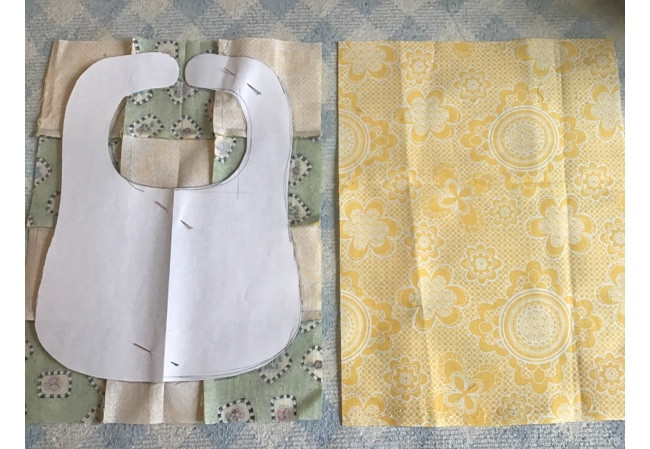 Patchwork Bib Pattern And Tutorial