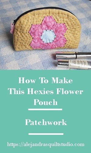 How To Make a Pouch With Hexies