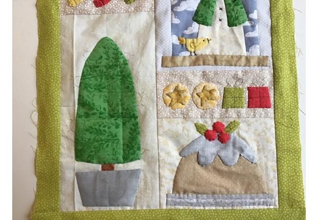 Country Christmas Mini Quilt - Blocks 3, 4 & 5