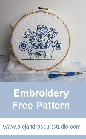 Basic Embroidery Stitches For Your Quilts