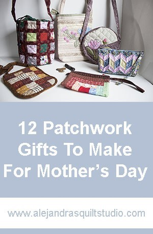 12 patchwork gifts to make for mother's day