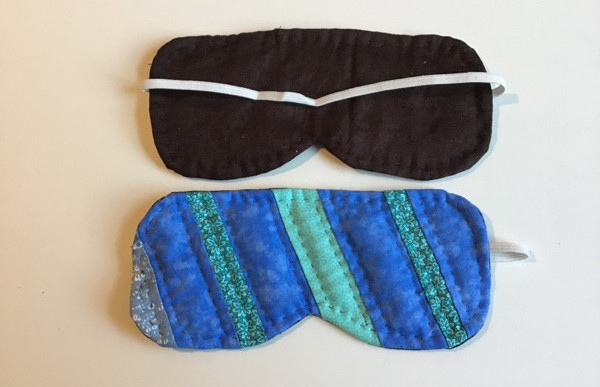 DIY Sleep Mask Patchwork