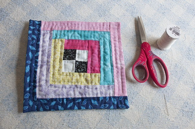Mini Pouch Patchwork Tutorial