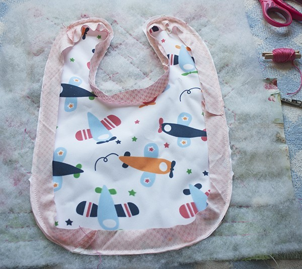 how to make a baby bib diy patchwork