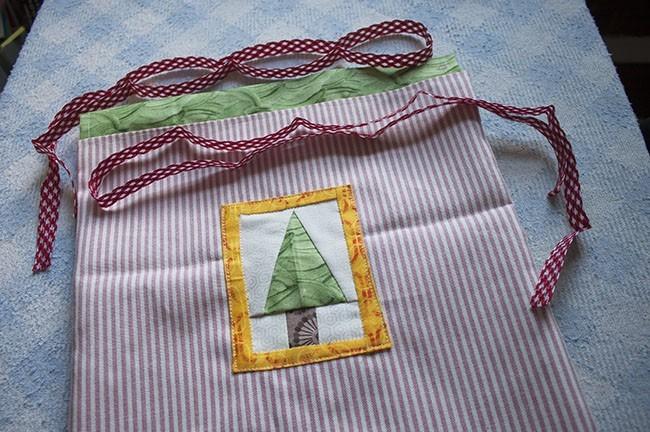 Cómo Hacer Una Bolsa Para La Navidad