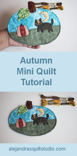 Autumn Mini Quilt TUTORIAL