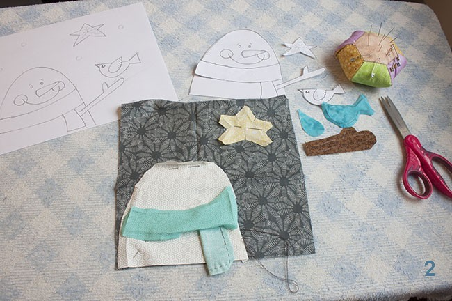 Snowman Pillowcase Tutorial