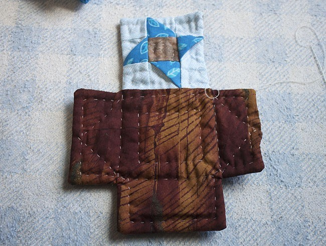 Tutorial - Mini Monedero Patchwork