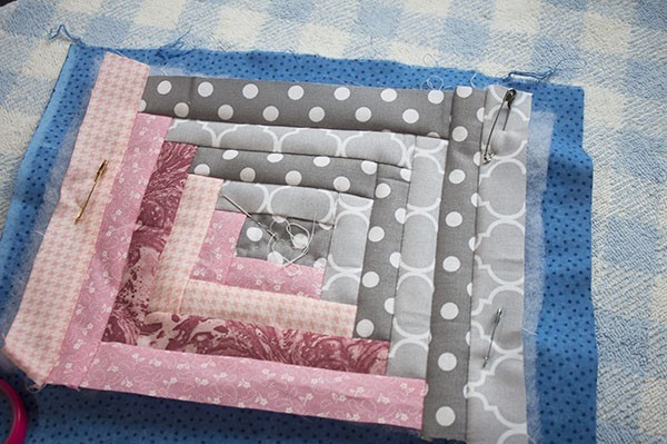how to make a patchwork pouch