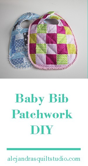 Easy Baby bib Tutorial - Patchwork