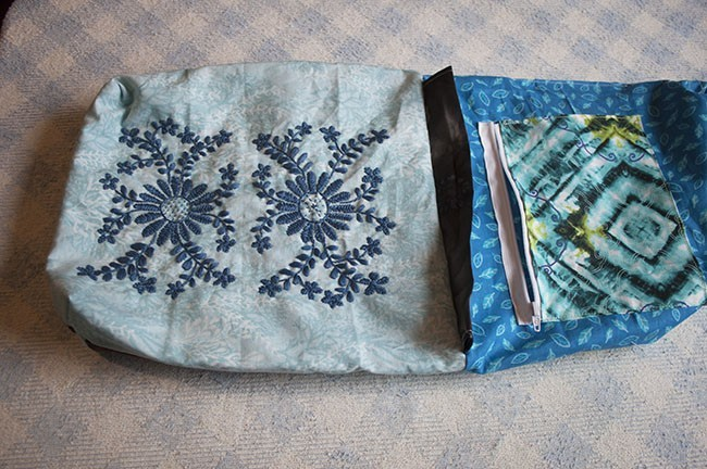 Patchwork And Mexican Embroidery Bag