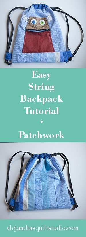 Easy String Backpack Tutorial