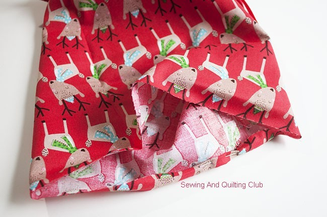 DIY - Eco-Friendly Fabric Gift Bags