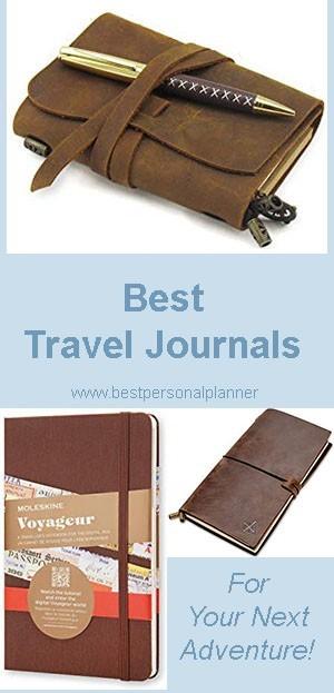 Best Travel Journals