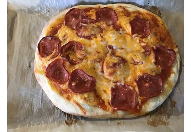 Homemade Pizza Dough Easy