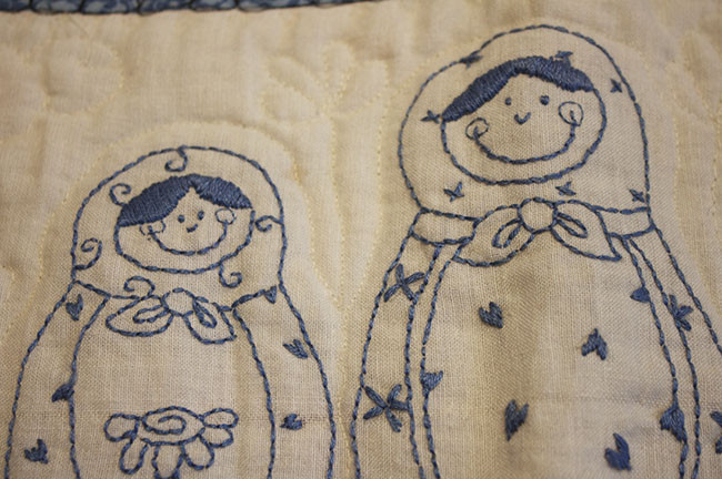 Hand Embroider A Quilt
