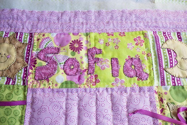 Tutorial Letras Patchwork