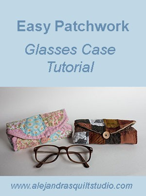 Easy Patchwork Glasses Case