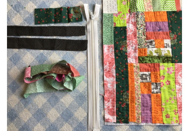Crumb Quilt Bag Tutorial