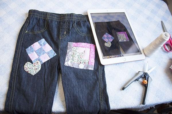 Como HacerJeans Con Patchwork