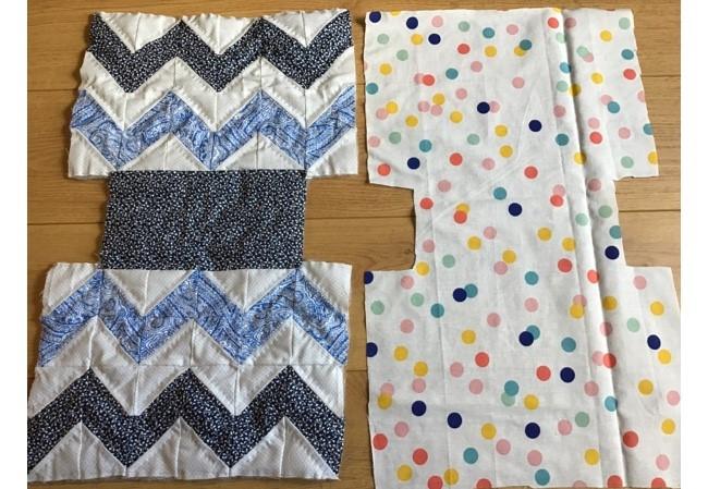 Chevron Quilt Pattern Bag