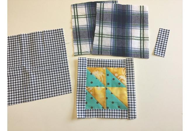 Sew Patchwork Potholder