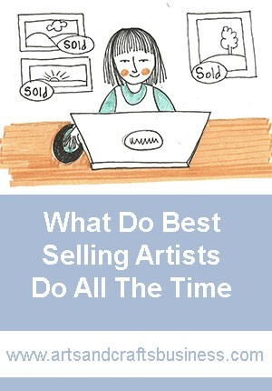 what best selling artist do all the time