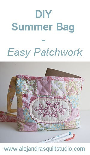 Patchwork Summer Bag DIY