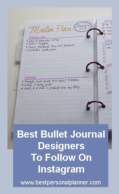 best bullet journal instagramers to follow