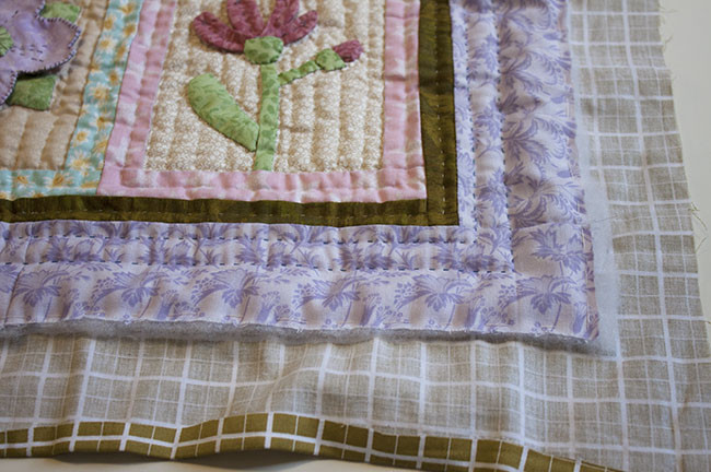 Self Binding Quilt Tutorial